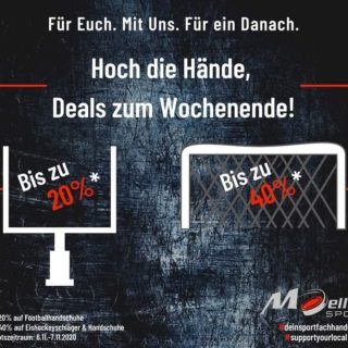 Support your local dealer! Ihr habt eh nix besseres zu tun. #moellersport #hockey #nuernberg #football