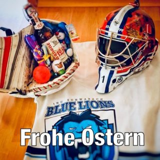 Die Blue Lions wünschen allen Mitspielern, Betreuern, Unterstützern und Sponsoren, Mitstreitern, Gegnern und allen Hockeybegeisterten ein frohes Osterfest in dieser speziellen Zeit! Auf baldiges Wiedersehen auf den Hockeyflächen der Republik #skaterhockey #eastern #ishd #bluelions #hockey #fuckcorona
